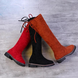 BROOKLYN-Over the knee children-high Boots(RED)