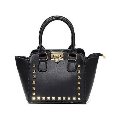 Valentina Mini Tote Studded Purse Handbags for Toddler Kids