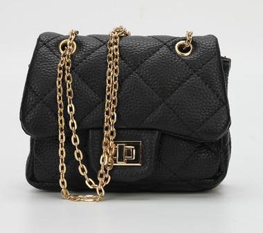 MINI COCO PURSE Crossbody Handbags In Black