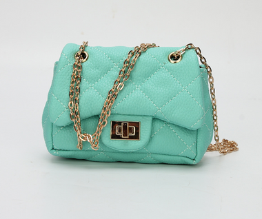 Chiara Mini Crossbody Handbags In Mint green