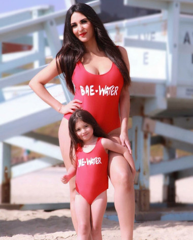 81ab3a4f4d987 Mini me Liani one-piece swimsuit-Bae-Water - COOL KIDS BKLYN BOUTIQUE LLC