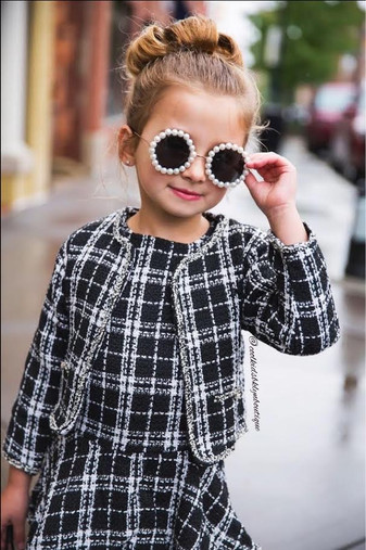 PAMELA LUXURY Pearl Sunglasses (Toddlers & Girls)