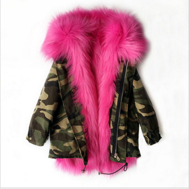 The Original CAMO PRINT PARKA Coat (FOR TODDLERS - CHILD)