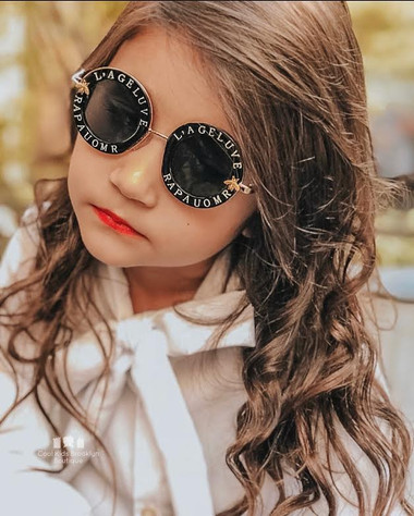 BLIND FOR LOVE Bee sunglasses ( (FOR TODDLERS)