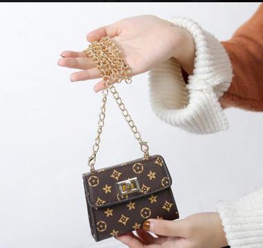 Mini Chain crossbody Flower Print Bags(FOR TODDLERS - GIRLS)