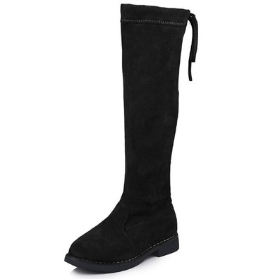 BROOKLYN-Over the knee children-high Boots(BLACK)