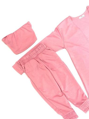 Riley 3 PIECES SET (pink)