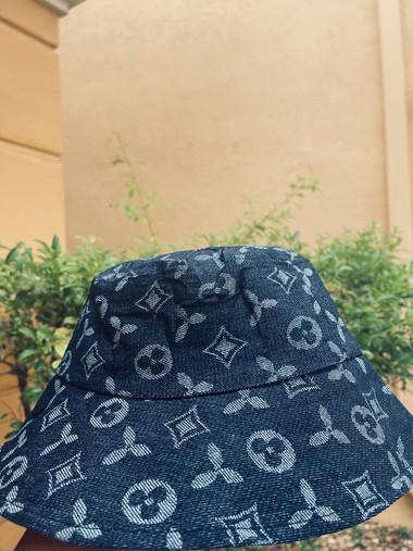 Kids Sun Hat Denim Cotton Bucket Hat for Girls and Boys