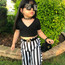 SHE SLAYS-  MINI Diamond TRANSPARENT FRAMES (FOR TODDLERS - GIRLS)
