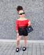 GIA Ribbon Bow Ruffled Shorts