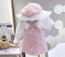 Kairi mini Coco PINK  tweed two-pcs Set (Toddlers & Girls)