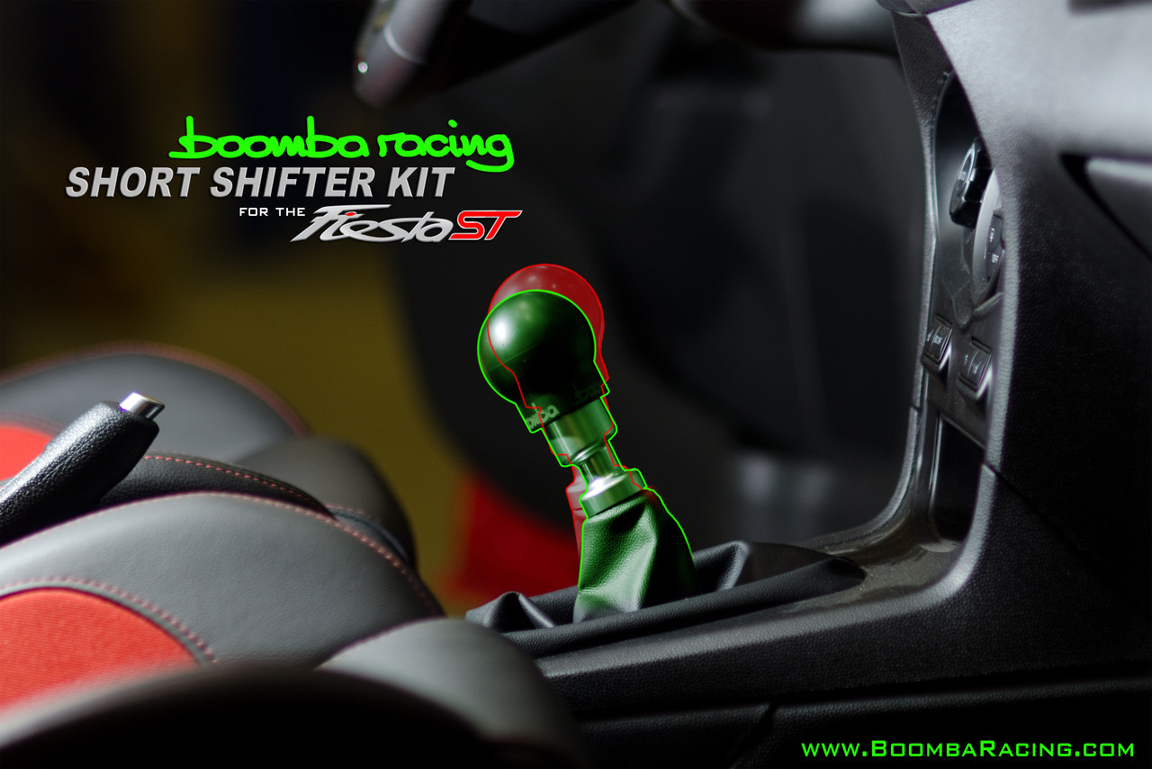 Automotive Shifters Ford Fiesta St Short Throw Shifter Boomba Racing 2014