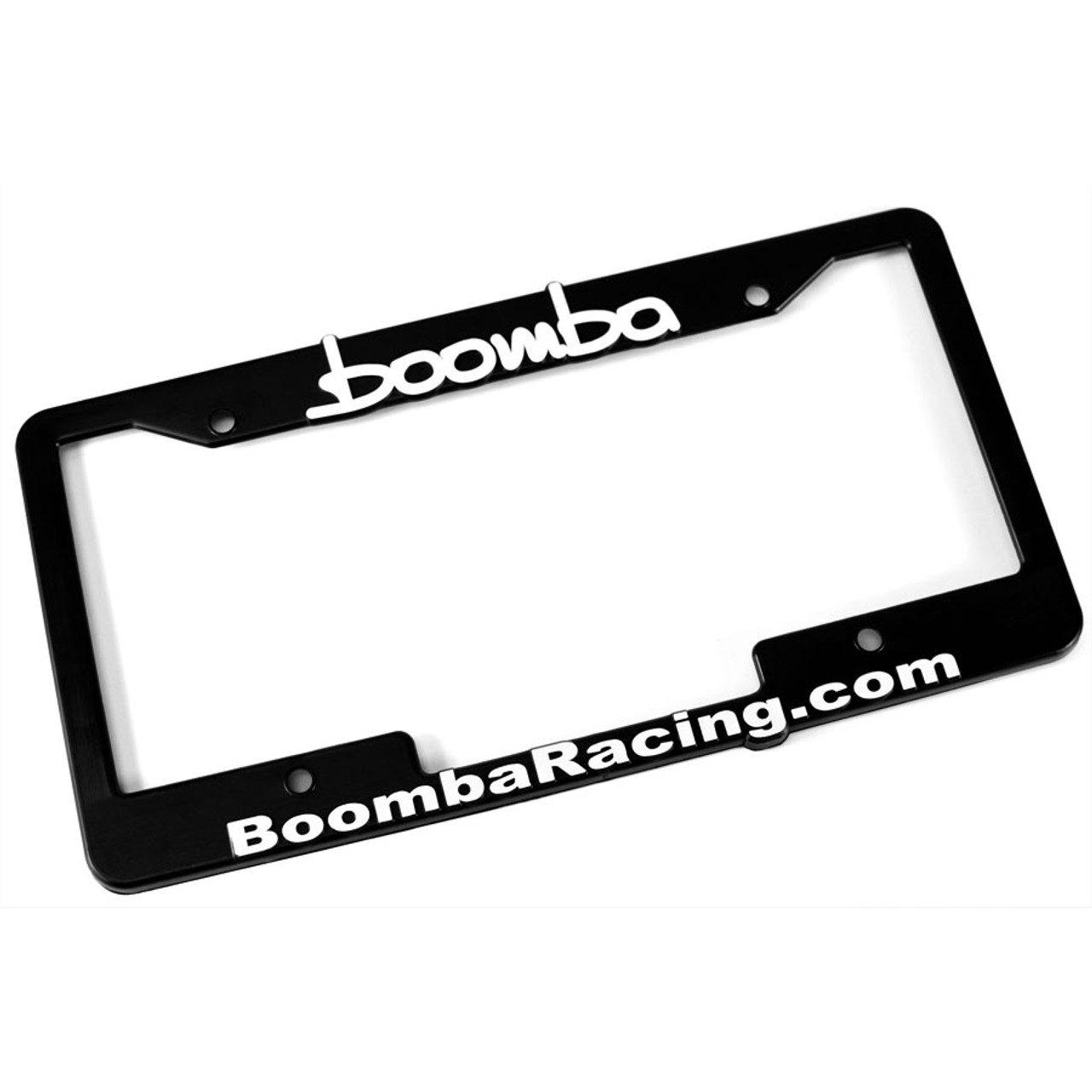Boomba Racing License Plate Frame