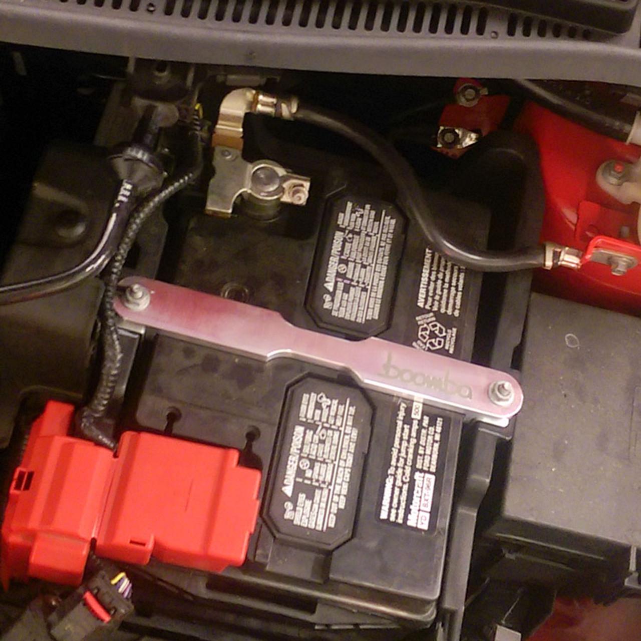 2014 + Fiesta ST Battery Tie Down