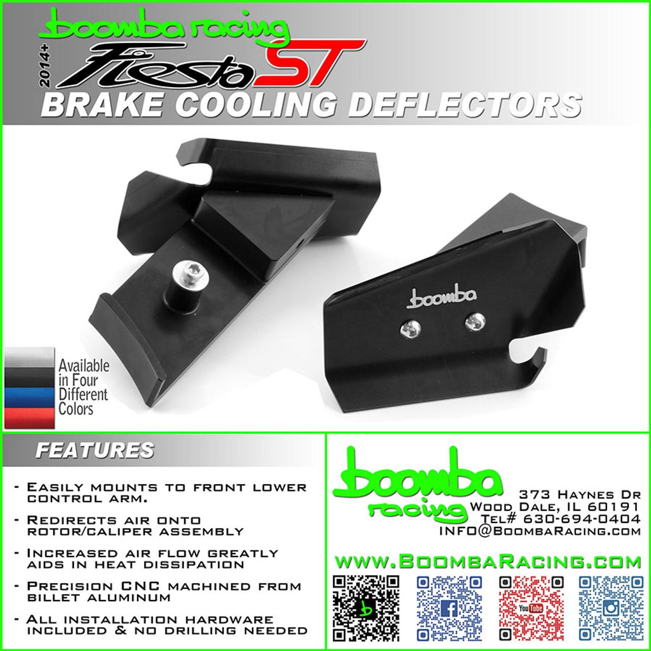 2014 + Fiesta ST Brake Cooling Deflector