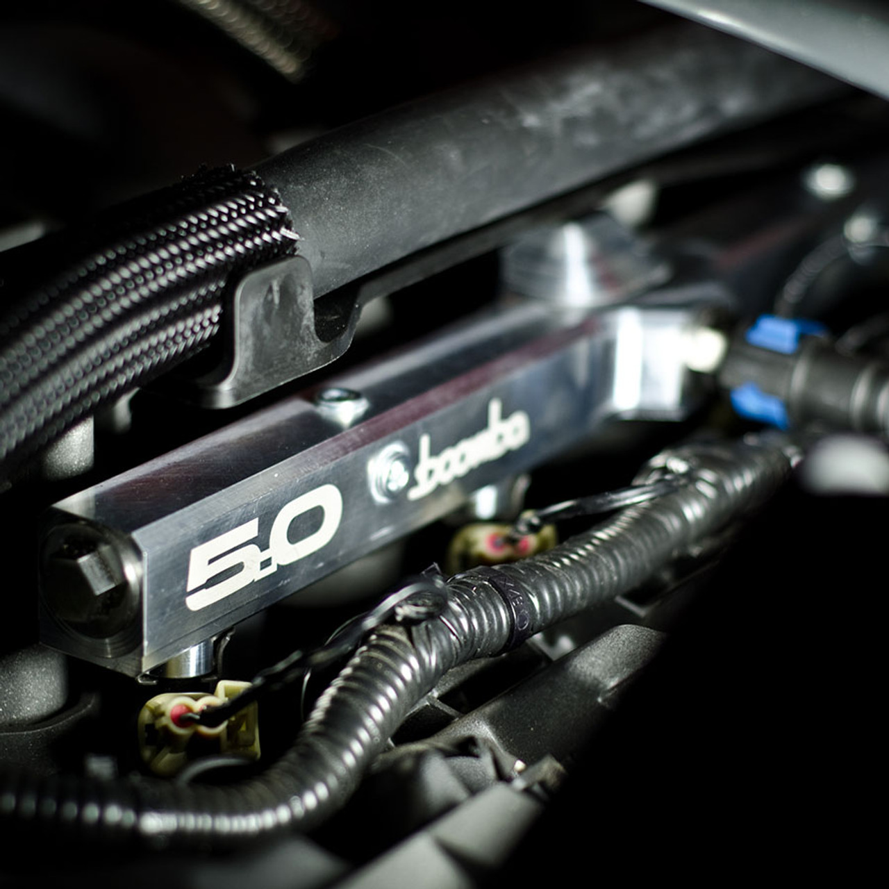 MUSTANG GT FUEL RAIL - NATURAL