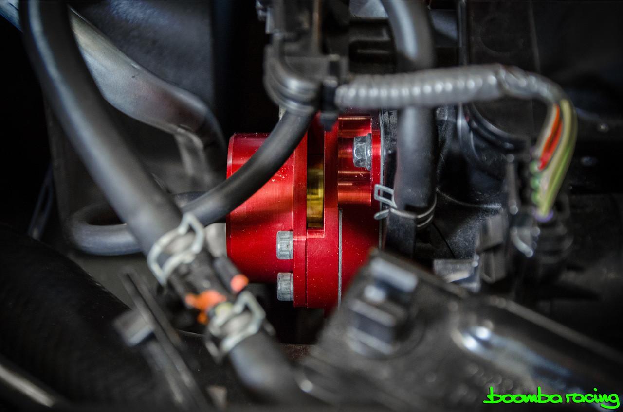 Boomba Turbo VTA Blow Off Valve BOV Blue Anodize 2016-2018 Honda Civic 1.5L NEW