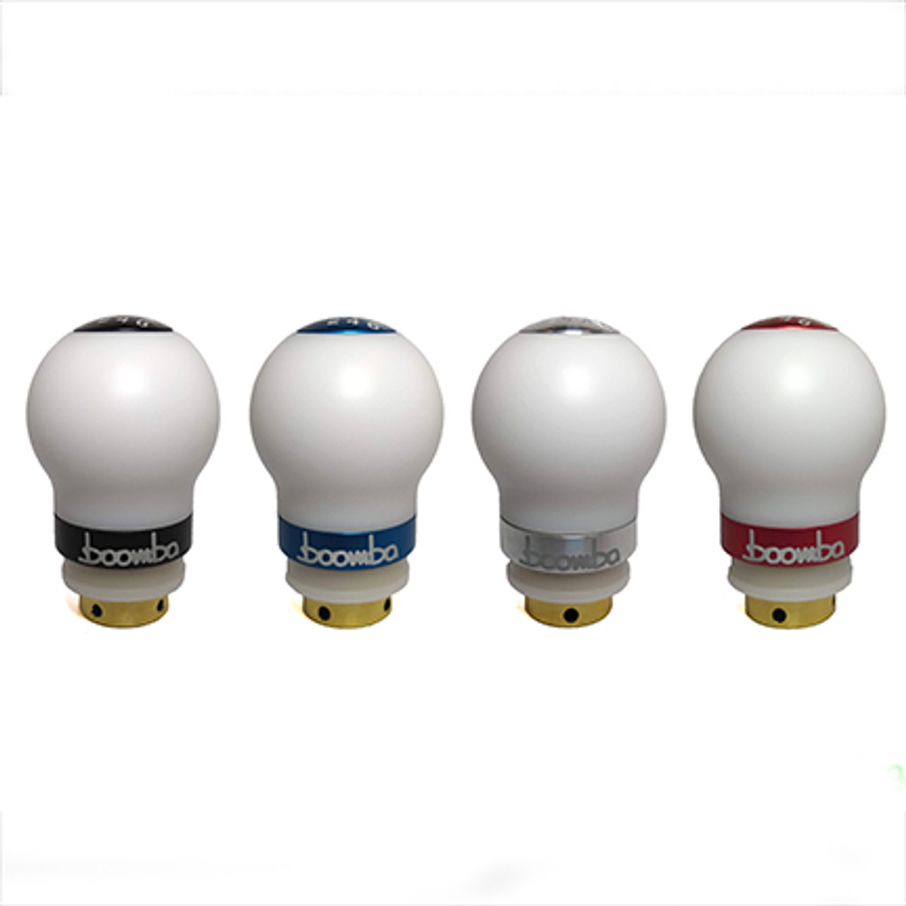 MK7 GTI / Golf R Short Throw Weighted Shift Knob White Delrin - 440 Grams (035-00-008)