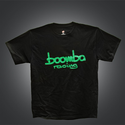 Boomba Racing T-shirt Green Logo