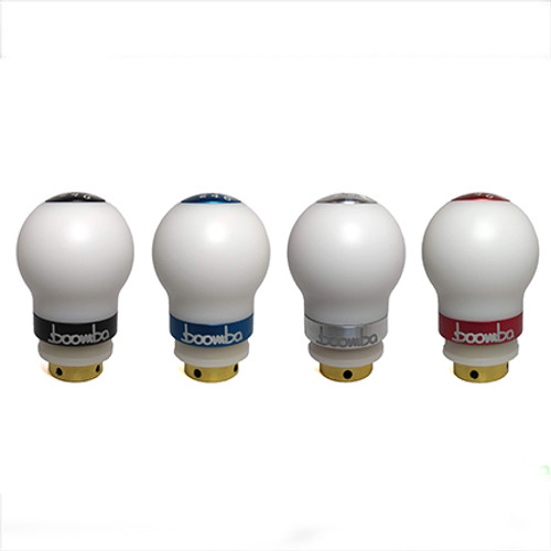 MK7 GTI / Golf R Short Throw Weighted Shift Knob White Delrin - 440 Grams (035-00-008)