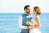 Brittany and Michael Romantic Beach Wedding