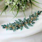 Awesome Bridal Hair Accessory Trends of 2020- Emerald Green Jewelry and Accessories