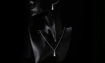 CZ Crystal Bridesmaid Jewelry Set