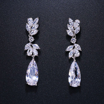 Cubic Zirconia CZ earrings