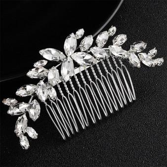 Sparkling Rhinestone Bridal Hair Comb