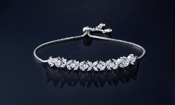 affordable silver bridesmaid bracelet