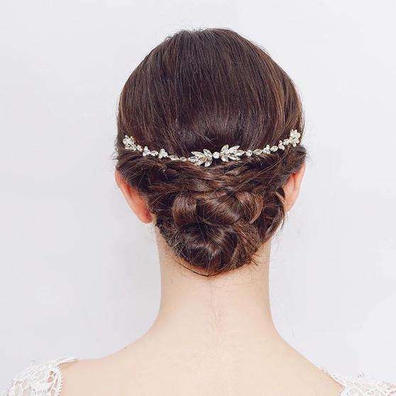 Vine Bridal Hair Comb Silver, Gold, Rose Gold