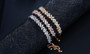 inexpensive cubic zirconia bridal bracelet