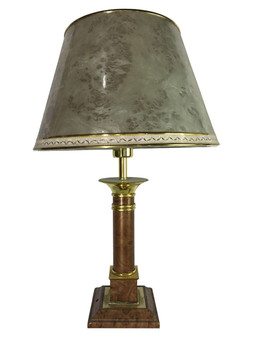 Al Masah Crystal Table Lamp -TAB00062 - TC-259A PEACHY