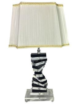 Al Masah Crystal Table Lamp -TAB00052 - MT-521 CLEAR