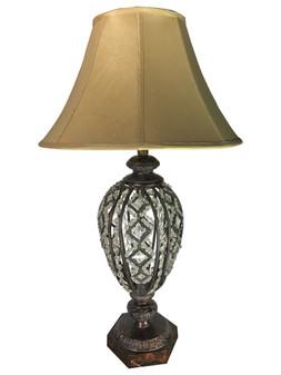 Al Masah Crystal Table Lamp -TAB00067 - YC-071,D45 H80