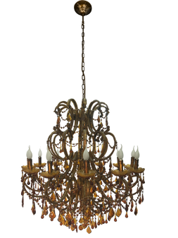 Al Masah Crystal Chandelier - CHA00308 - 8007-12