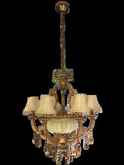 Al Masah Crystal Chandelier - CHA00620 - MD-8102/6+3