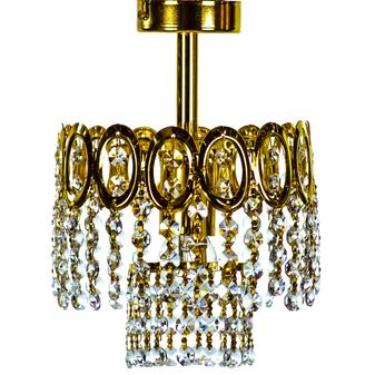 Al Masah Crystal Ceiling Light - CEI00315- 401/D20 PL ORO