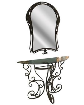 Al Masah Crystal Console Table - TAB00070