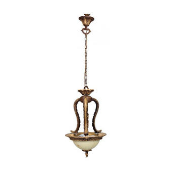 Al Masah Crystal Glass Plate Pendant Light - PEN00073
