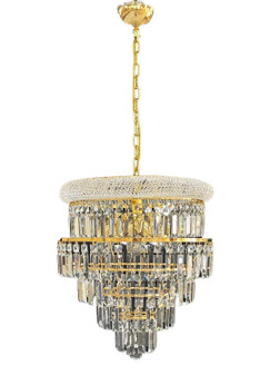 SP-2021/4L GOLD Metal Crystal Chandelier Lighting