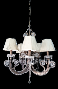 YD-V-1133D-5 Light Wrought Iron Chandelier
