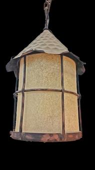 MD036(L)-3 Light Wrought Iron Pendant Lighting