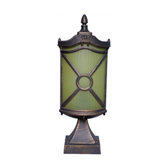 Al Masah Covered Glass Garden Landscape Light - OUT00053