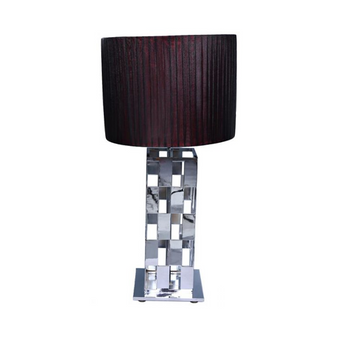 Al Masah Crystal Story Pleated Table Lamp - TAB00037