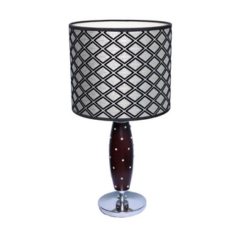 Al Masah Crystal Diamond Table Lamp - TAB00003