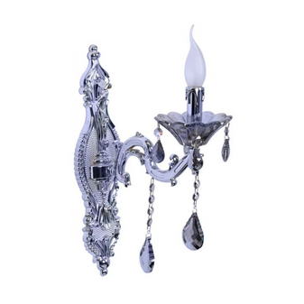 Al Masah Crystal Candlelit Wall Light - WAL00490