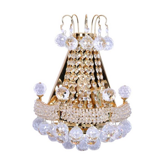 Al Masah Crystal Hanging Crystal Wall Light - WAL00455