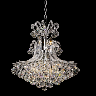 2198-7 Light Crystal Chrome Chandelier