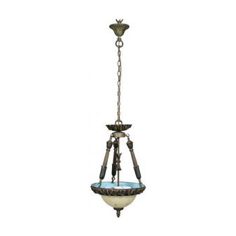 Al Masah Crystal Glass Plate Pendant Light - PEN00070